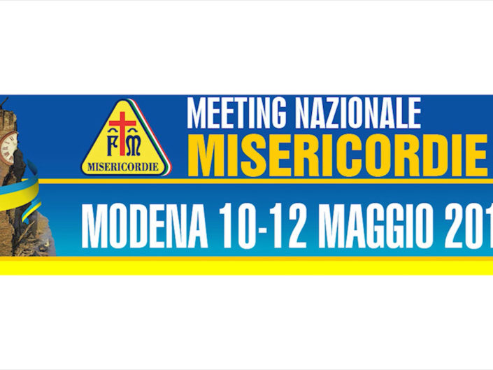 1° Meeting Nazionale Misericordie D'Italia – Modena 2013